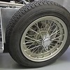 "Dunlop wire wheels with Michelin Xs and Girling disc brakes. An interesting combination to be mounted on the antiquated Anglia-derived beam axle which was modified by Lotus as a ""swing axle"" a la 750 and 1172 formula practice commonplace in the UK in the period.."
