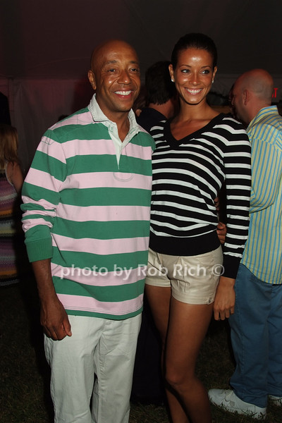 Russell Simmons, Porschla Coleman<br /> photo by Rob Rich © 2008 516-676-3939 robwayne1@aol.com