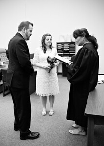 Getting Married bw (1 of 1)