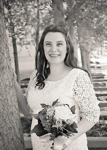 Bridal Portrait bw (1 of 1)