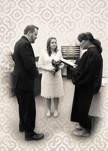 Vows bw (1 of 1)