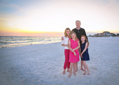 Kramer Family on the Beach Destin 2013  (1 of 1)