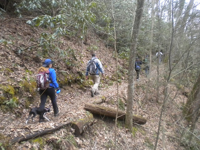 Lovers Leap Hike 2-10-13