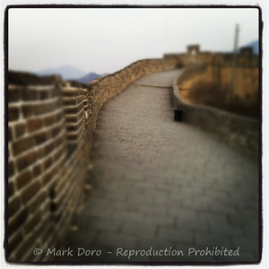 Great Wall miracle ..... no people, Badaling, China