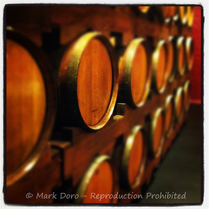 Wine barrels, Hunter Valley, NSW