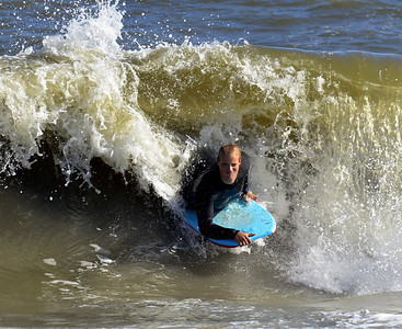 Body Surfing in Ocean City