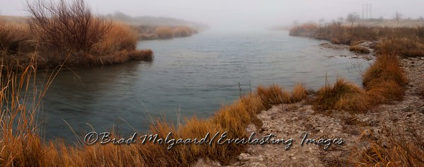 """Horizon Mist"" Pecos River/Carlsbad, New Mexico"