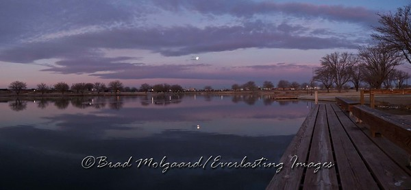 """""""Between Clouds"""" / Pecos River Lower Dam - Carlsbad, New Mexico"""