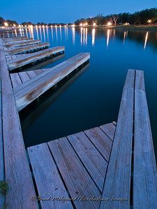 """Glow Light Blue"" / Pecos River - Carlsbad, New Mexico"