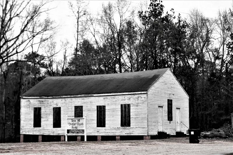 Old Mt. Willing Baptist Church
