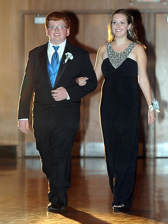 Pat Christman <br /> Hannah Atkinson escorted by Ben Torgerson.