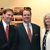 Chamber Chairman of the Board Byron Boles, Okla. Lt. Gov. Todd Lamb, Chamber President Sherri Wilt
