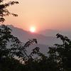 Sunset from Mt Phusi