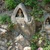 Neat little shrine in hillside in town