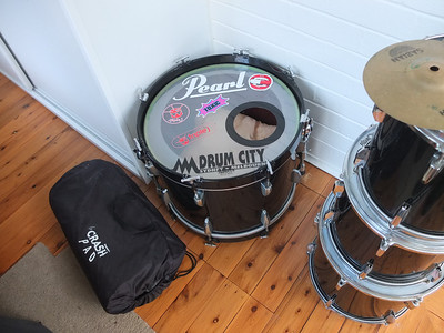 Lucy's drum kit