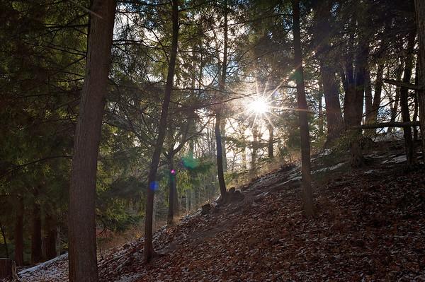 Ludington State Park November 2015 - Michigan Run