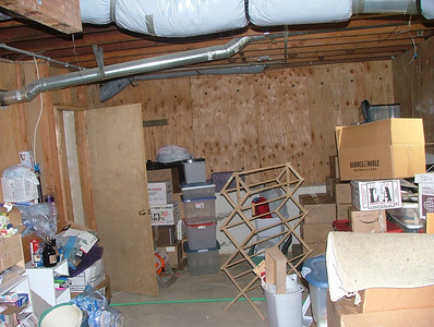 Basement Storage!