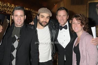 Raymie Moynagh, guest, Des Reilly,  photo by Rob Rich © 2009 robwayne1@aol.com 516-676-3939