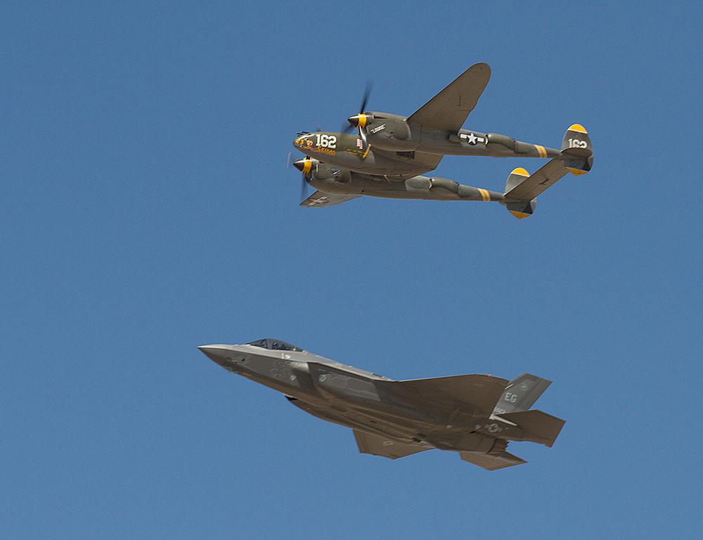 P-38 Lightning<br /> F-35 Lightining II