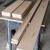 Plastic laminate done, maple lumber purchased