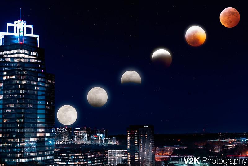 Lunar Eclipse 2019 - V2K Photography