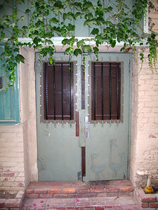 Door in alleyway, 21 May 2009
