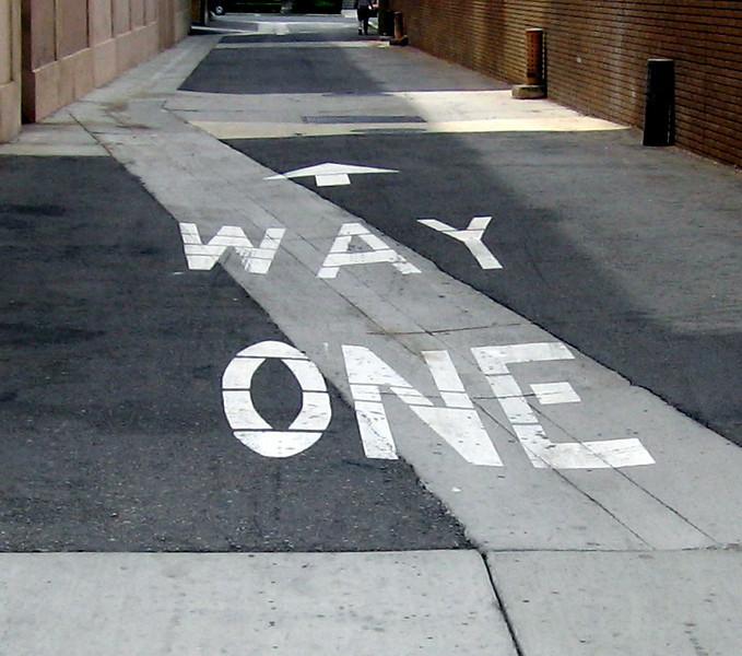 Way One, 22 May 2009
