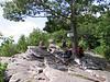 Lydia - Appalachian Trail '08 : Lydia, Seth, Matt & Carolyn did a 3-day hike on the AT, starting near The Pinnacle.