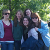 The Fruit Salad bunch-- Jess, Lydia, Carolyn, Rachel, Nichole headed for Bermuda with H.S. choir