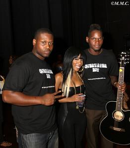 Memphis: Steven Snipes (L) K-Michelle (M)