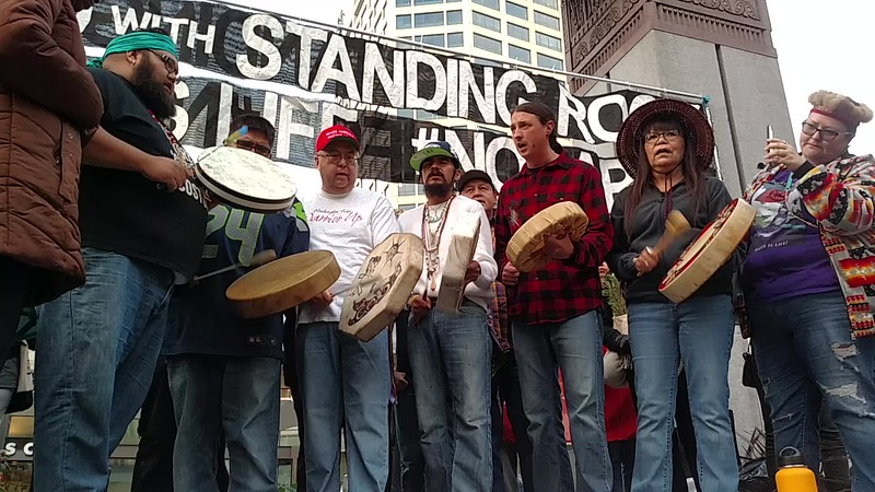 VID_AIM song in support of NoDAPL