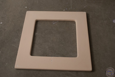 Square Drop vase/bowl mold - outside to outside 7 1/2 inches (square with rounded corners) with a 5 Inch hole inside
