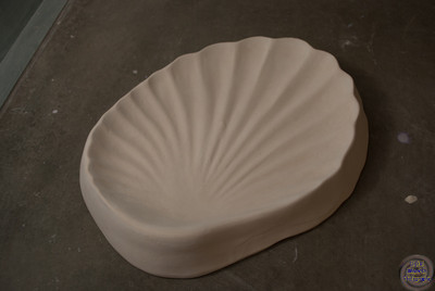 Shell dish - 10 3/4 inches x 8 inches
