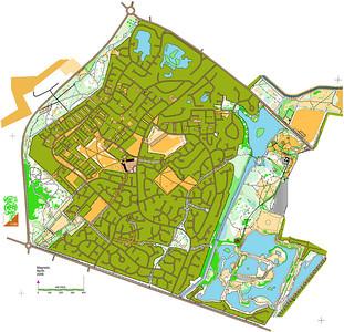 The Birchwood estate, Doddington park, Hartsholme Park and Swanholme Lakes Nature Reserve, Lincoln UK