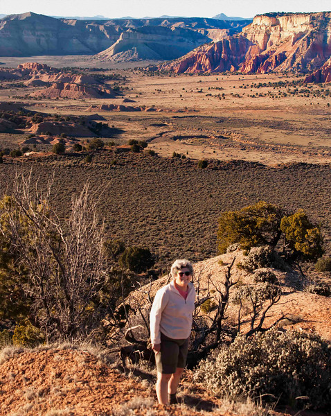 Kodachrome Basin view from Cottonwood Canyon Road<br /> Grand Staircase Escalante National Monument<br /> Utah