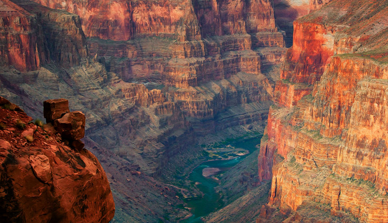 Toroweap Point - North Rim<br /> Grand Canyon National Park<br /> Arizona