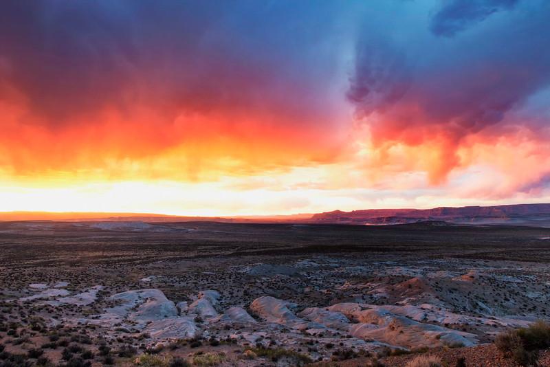 Wahweap Sunset<br /> Page, AZ