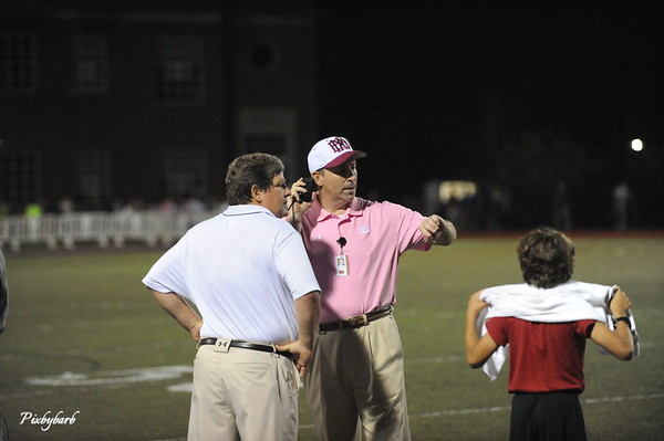 MBA vs Father Ryan Football Homecoming 10-10-14