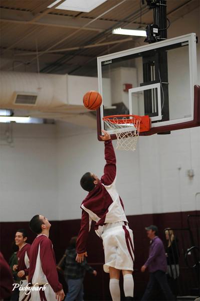 MBA Basketball vs Knox Webb 1-3-09