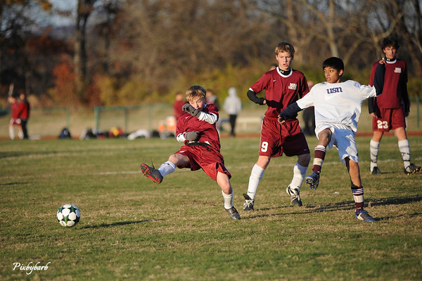 Microbe Soccer HVAC Final vs USN