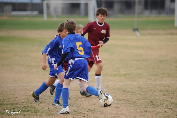 MBA Microbe Soccer HVAC Playoff vs BGA