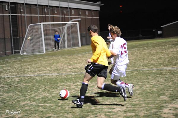 MBA VS Hendersonville Varsity Soccer