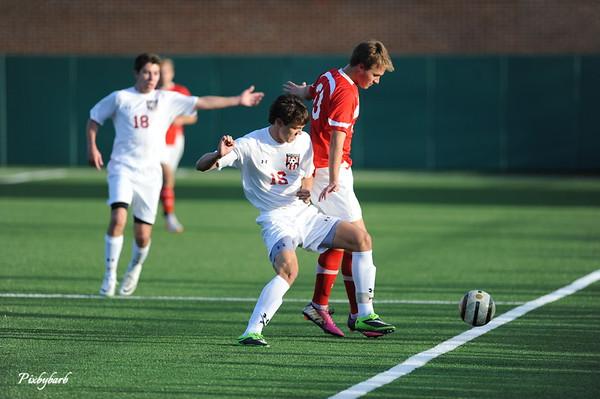 MBA Varsity Soccer Versus Baylor 2014