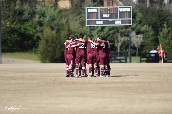 MBA Varsity Soccer vs BA 4-8-13