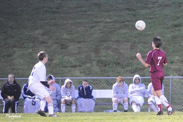 MBA Varsity Soccer vs Centennial 2009