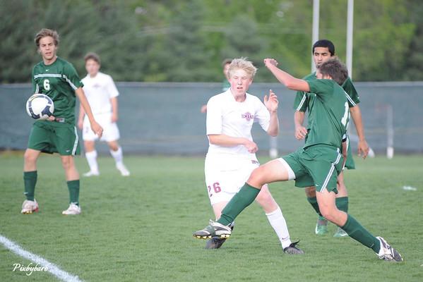 MBA vs Varsity Soccer vs Hillsboro 4-21-09