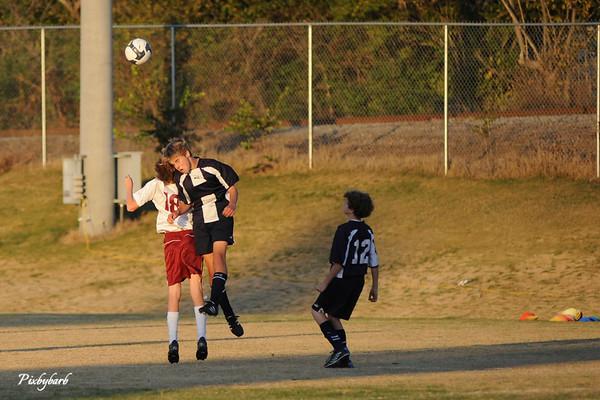 Microbe Soccer Vs BA 11-4-08