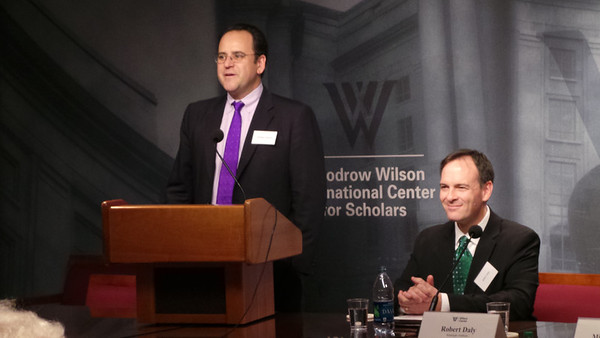 Mike Violette, Robert Daly at 2013 Holdridge Lecture