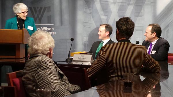 Martha Holdridge, Robert Daly, Mike Violette at 2013 Holdridge Lecture