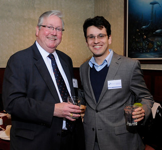 Robert Walker and Eddie Resende of Maryland DBED at MCBC Banquet